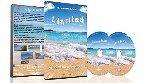 Strand DVD - 2 DVD Set - Ein Tag am Strand - Zur Entspannung mit Meeresgeräuschen