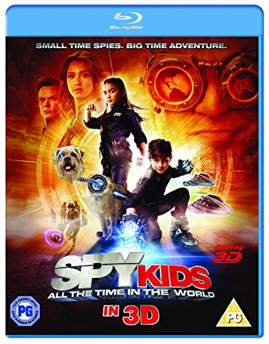 Spy Kids 4: All The Time In The World (+Blu-Ray)[Blu-ray 3D] [UK Import] - 3d Spy Kids
