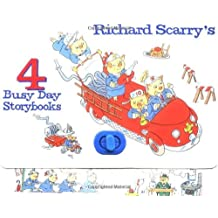 Richard Scarry's 4 Busy Day Storybooks