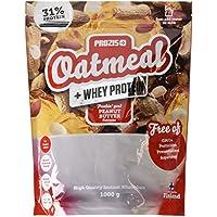 Prozis Oatmeal, Sabor Manteca de Cacahuete - 1000 gr