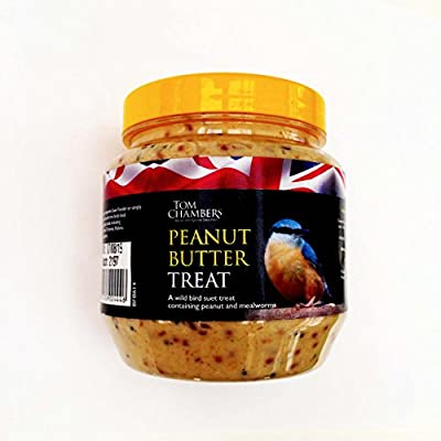 Peanut Butter Treat for Wild Birds 350g from Tom Chambers