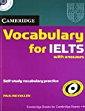 VOCABULARY FOR IELTS WITH ANSWER WITH AUDIO CD (SOUTH ASIAN EDITION) 01 Edition price comparison at Flipkart, Amazon, Crossword, Uread, Bookadda, Landmark, Homeshop18