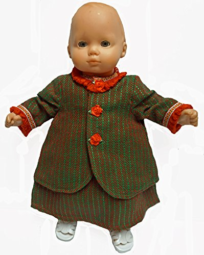 Winter Jacket and Skirt Fits 15-16 Inch Baby Dolls