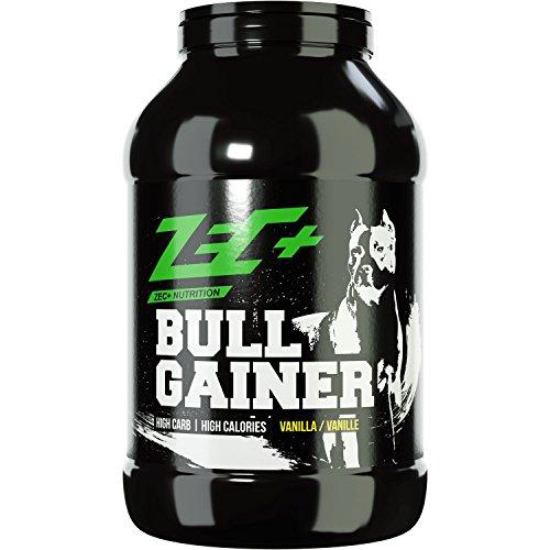 ZEC+ Bullgainer Protein-Pulver für Muskelaufbau & Masseaufbau, Weight-Gainer Eiweiß Supplement mit Proteinen & Kohlenhydrathen, idealer Protein Shake für mehr Masse, Geschmack Vanille 3500 g