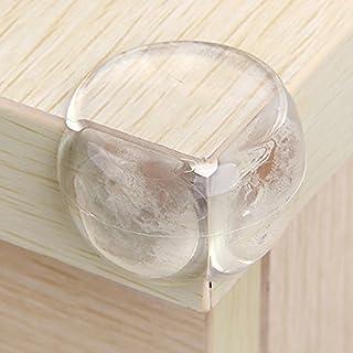Ancdream 12 Stück Baby Eckenschützer Kantenschutz Transparent Babysicherheit Eckschutzset
