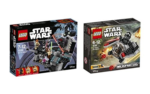 Lego Star Wars Set bestehend aus 75169 Duel on Naboo und 75161 Tie Striker (Fighter Rebels Wars Star Tie)