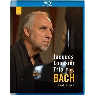 Bach: Jacques Loussier Plays Bach And More [Jacques Loussier, Benoit Dunoyer de Segonzac, André Arpino] [Blu-ray] [2014] [Region A & B & C]