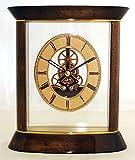 Kaminuhr Tischuhr goldbraun / gold - dekorative IMC Atmos