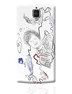 PosterGuy One Plus 3 Case Cover - Ed Sheeran Thinking Out Loud | Designed by: Psyd Effects