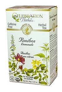 Red Tea Lemonade Organic by Celebration Herbals - 24 Bags