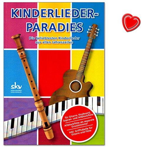 Stroh Bauer Hats - Kinderlieder-Paradies für Gitarre, Keyboard, Flöte mit