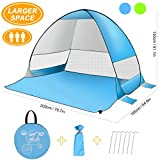 Best Beach Tent For Winds - Pop up Tent, SLB Large Pop up Beach Review