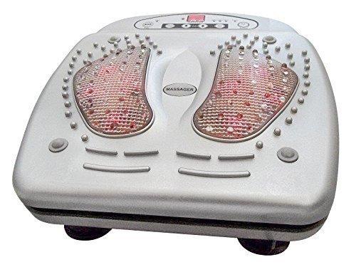 Massaggiatore a infrarossi per piedi con telecomando per massaggio di riflessologia plantare