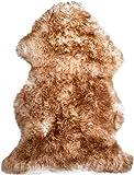 Lammfell Schaffell Merinoschaf groß 120-130cm geflammt ökologische Gerbung