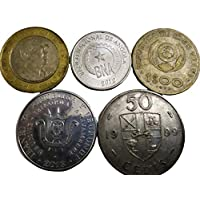 Novelty Collections 5 African Coins (All Different)from Minimum 4 Countries