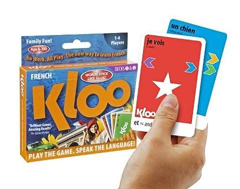 Jeux de cartes linguistiques de KLOO: Apprenez à parler français