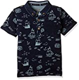 #9: Mothercare Baby Boys' Starred Regular Fit Polo (PB035 -1_blue_9-12 months)