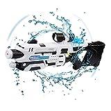 Tongtu Outdoor Wasserpistole Spielzeug, Super Soaker Wasserpistole Squirt Gun Blaster Spielzeug für Kinder und Erwachsene Outdoor Beach Garden Pool, Große Feuchtigkeitskapazität (Weiß)
