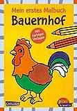 Pixi kreativ 118: Mein erstes Malbuch mit farbigen Vorlagen: Bauernhof
