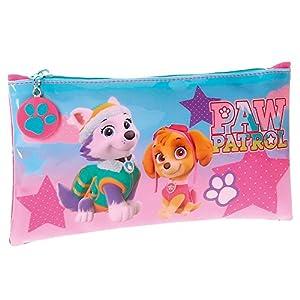 Paw Patrol- Neceser Estuche portatodo, Color Rosa, 22 cm (Joumma 4894051)