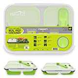 Home Puff Collapsible Lunch Box, 3 Compa...