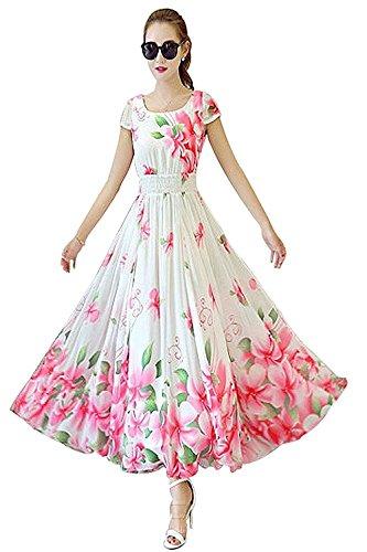 Manorath Women's Cotton Silk Kurti (Pink Frocks_Pink_Xl)