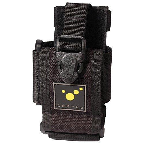 feuerwehr holster tee-uu RING Digitalfunk/Smartphone Holster 13 x 7 x 4 cm Schwarz