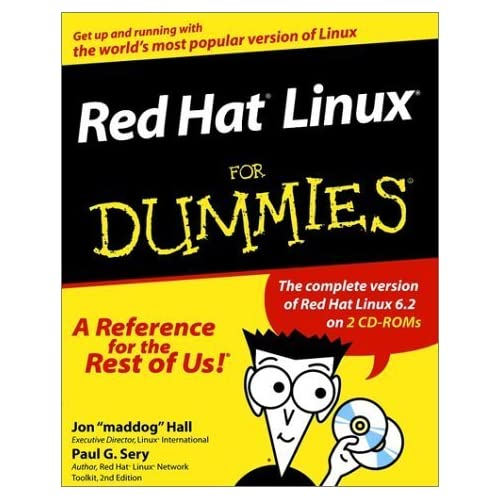 Red Hat? Linux? For Dummies? 1st edition by Hall, Jon, Sery, Paul G. (1999) Paperback