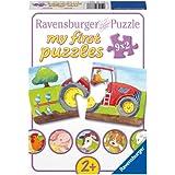 Ravensburger - Mi primer puzzle: En la granja, 2 piezas (07333 7)
