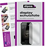 dipos I 2X Schutzfolie klar passend für Blackview BV4000 Pro Folie Displayschutzfolie