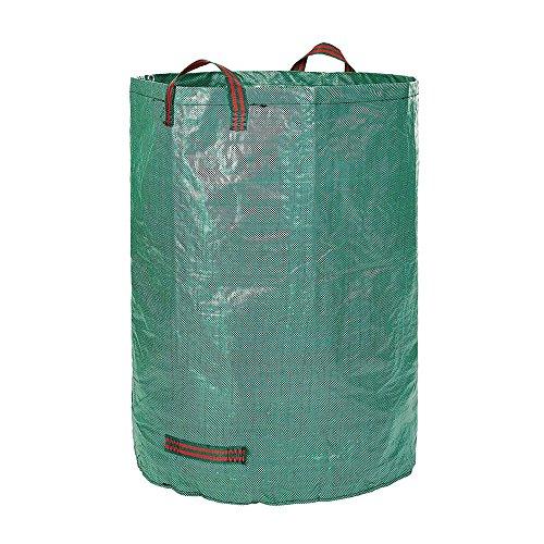 YA-Uzeun Caddy Organizer Putzbeutel Gartenbeutel Sack Set Laubsack Garten Abfallbeutel Müllbeutel 120L
