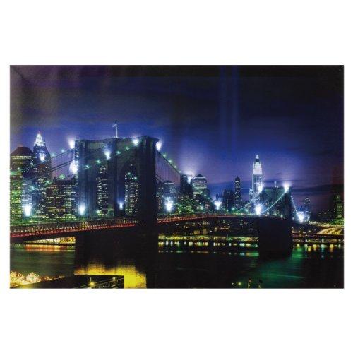 Heitronic 34010 A, lumineux image, bois, Integrated, multicolore, 1,7 x 1,7 x 40 cm