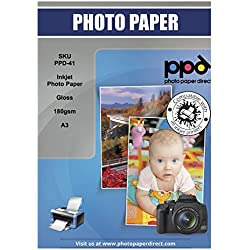 PPD Ppd-41-100 A3 papier photo brillant Jet d'encre