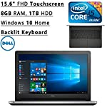 Operating system: Windows 10 Home, 64-bit Display: 15.6 in Full HD LED touchscreen (1920 x 1080), 10-finger multi-touch support Touchscreen: YES Screen Resolution: 1920 x 1080 Processor: Intel Core i5-6200U Dual-Core, 2.30 GHz with Turbo Boost Techno...