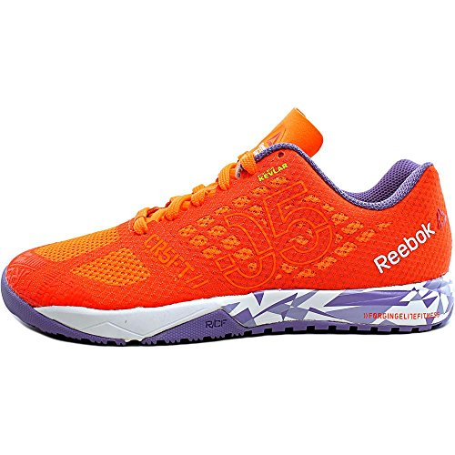 Reebok Crossfit Nano 5.0 Synthétique Baskets Peach-Red-White-Violet
