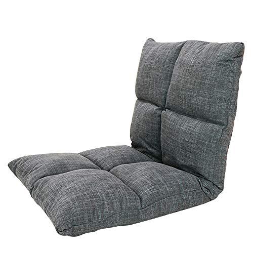 NNDQ 5-Position Klapp gepolsterte Kinder Gaming Sofa Stuhl, Lazy Sofa Couch Bett, Innen Verstellbarer Boden Stuhl, ideal für Meditation, Lesen