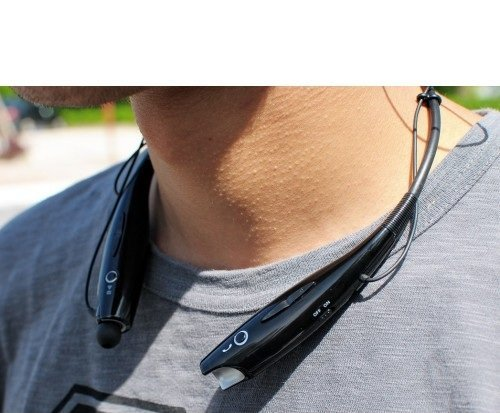 Wireless Bluetooth in-Ear Headphones for Samsung Galaxy A50 in-Ear Headphone Sports Earbud HD Bass-Head Headset Hands-Free Neckband with Mic Noise Isolating Sweat-Proof Jogger Image 5