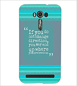 Printdhaba Quote D-4139 Back Case Cover For Asus Zenfone 2 Laser Ze550Kl