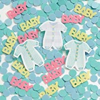 Baby Clothes Line Table Confetti