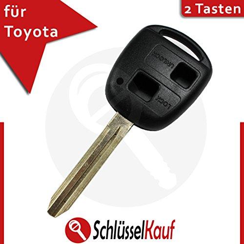 lexus-toyota-car-key-fob-case-2-button-uncut-toy43-key-sienna-camry-rav4-new