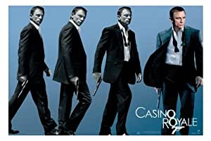 James Bond - Casino Royale - Walk - 61X91,5 Cm Affiche / Poster