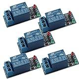 Gaoxing Tech. 5PCS 5V un escudo del tablero del módulo del relais del canal 1 para el ARM MCU Arduino del PIC AVR DSP