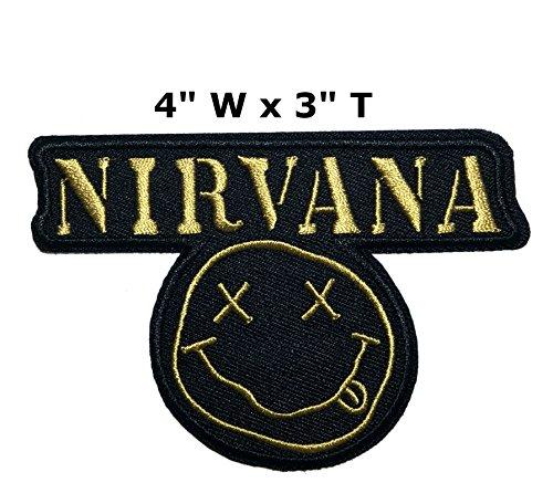 Outlander Outdoor Marke Anwendung Classic Rock Nirvana Band Musik Cosplay Badge gesticktes Eisen oder aufgesetzte Aufnäher Patch