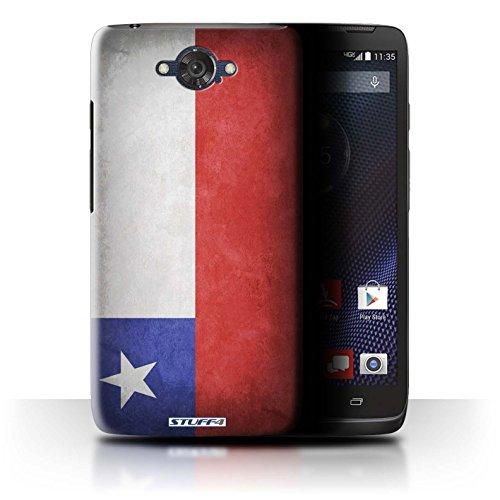Stuff4 Hülle / Case für Motorola Moto Maxx / Chile/Chiliean Muster / Flagge Kollektion