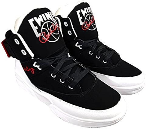 Ewing Athletics Ewing 33 HI Black White Red Basketball Schuhe Shoes Mens