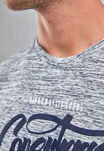next Herren T-Shirt Mit Kopenhagen Aufdruck Grau 3X-Large