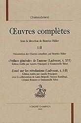 Oeuvres complètes : Volume I-II,