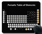 Alfombrillas para ratón, Tabla periódica de Elementos Alfombrilla para ratón para Juegos, Tabla periódica de Chemistry Elements para Clase Mousepad Grande de Goma Grueso