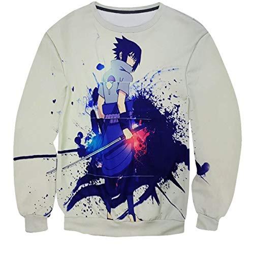 Kostüm Final Naruto - EAGLE_STORE Naruto Anime 3D Men Streetwear Sweatshirts Pullovers Tracksuit Sudadera Hombre