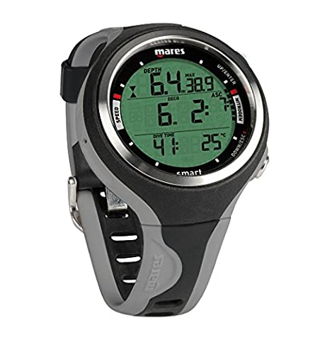 Mares Smart Diving Computer - Black/Grey